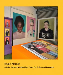 Eagle Market border by .